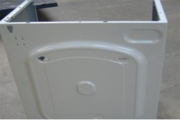 洗衣机侧板五金烤漆